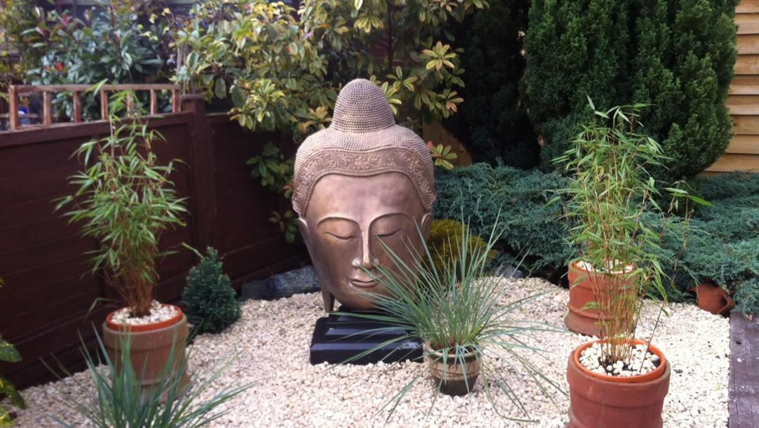 Stone Garden Ornaments Statues, Buddha Garden Statues