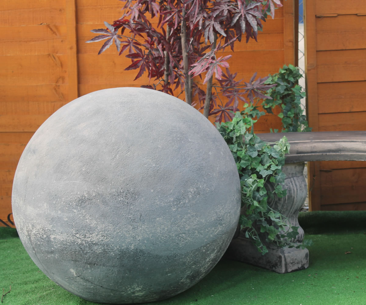 Large Ball Sphere Stone Garden Ornaments Amp Garden