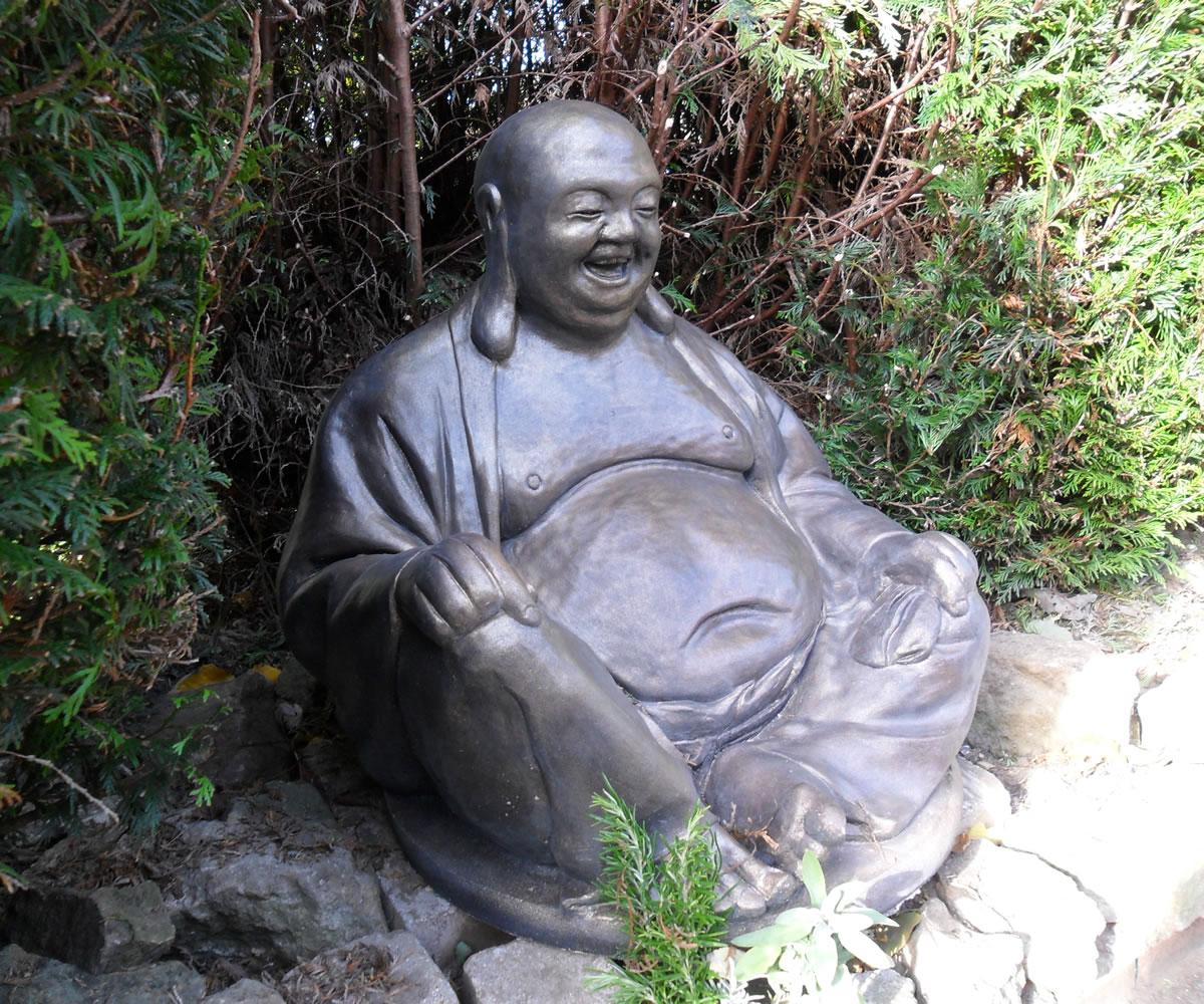 Massive Laughing Buddha Stone Garden Ornaments Garden Statues In Uk