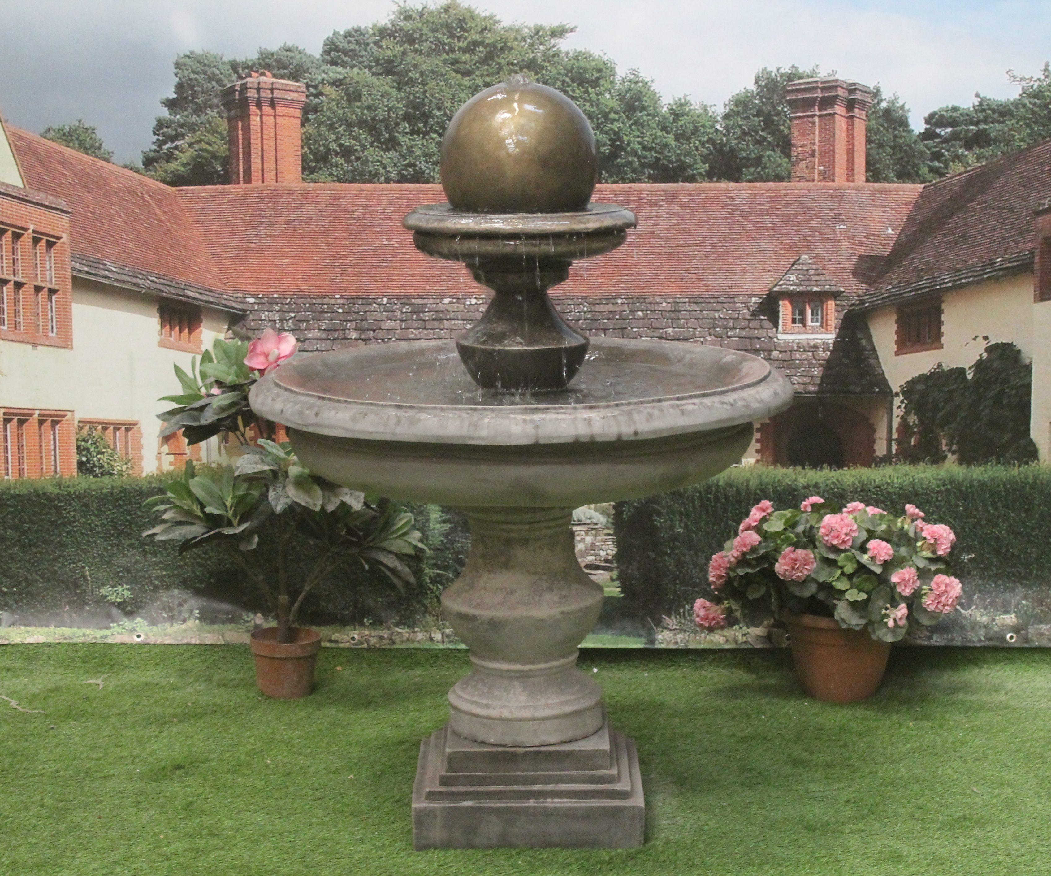 Large Regis Ball Fountain Stone Garden Ornaments