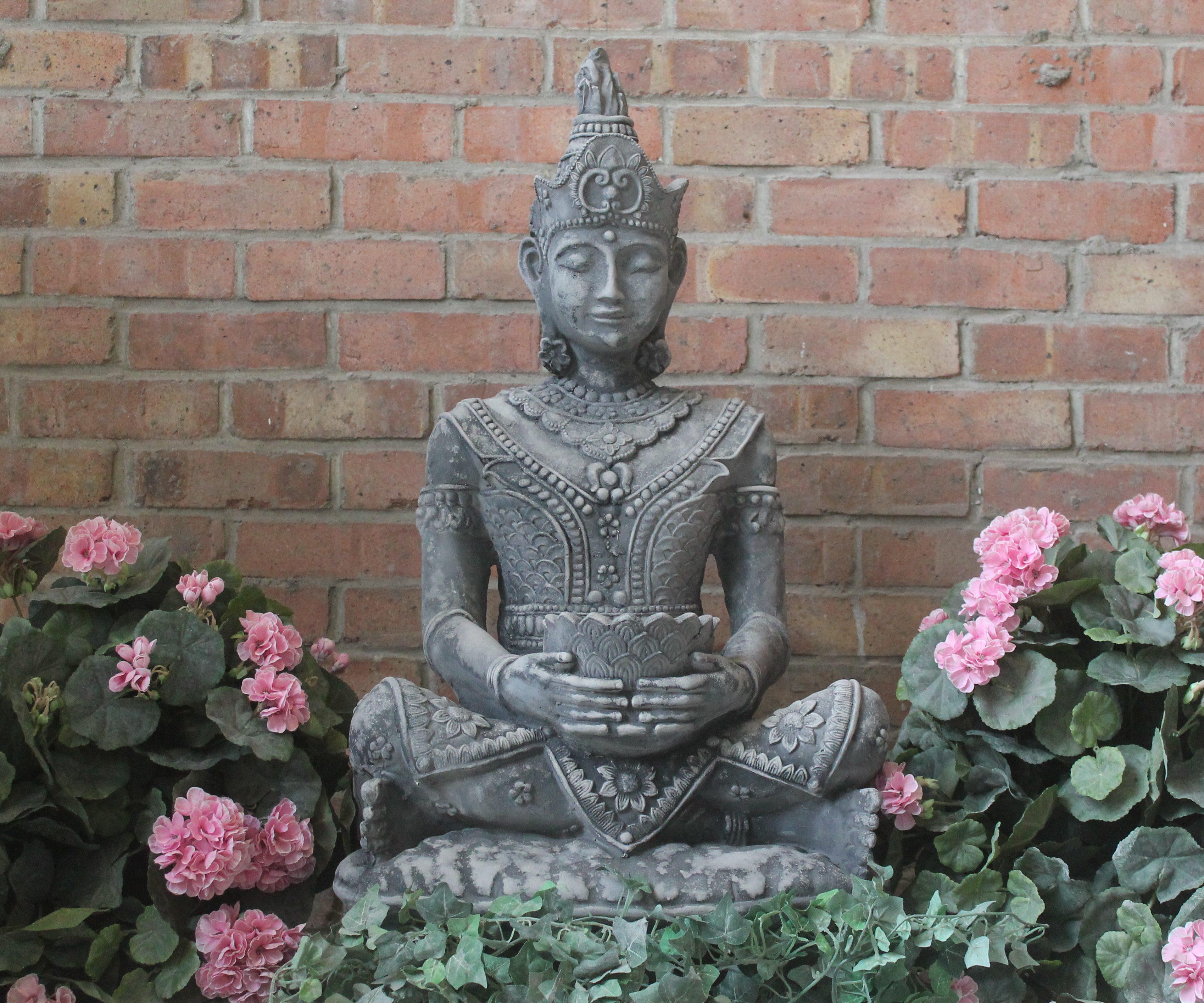 Full Size Thai Buddha Stone Garden Ornaments Garden Statues In Uk